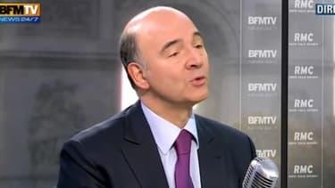 Pierre Moscovici était l'invité de BFMTV-RMC, ce mercredi 23 janvier.