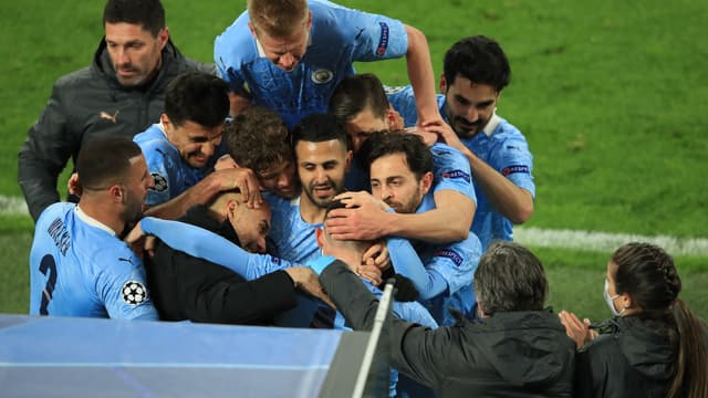 La joie de Manchester City