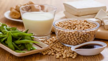 Le soja est à la base de nombreux produits. (photo d'illustration)