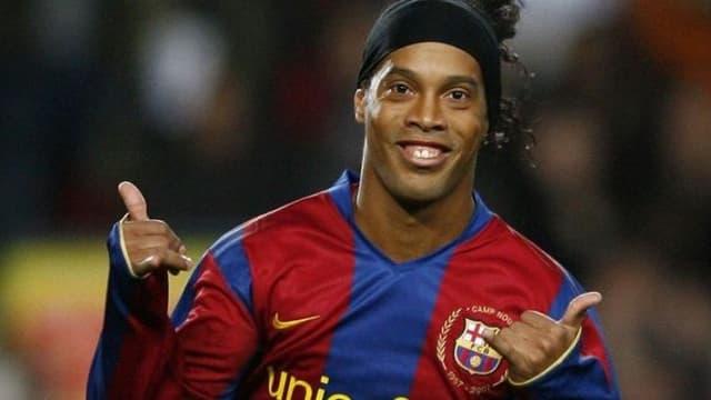 Ronaldinho, ex-star brésilienne du FC Barcelone