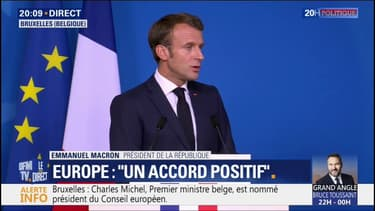 """Commission européenne: Emmanuel Macron a défendu la candidature d'Ursula Von der Leyen """"avec beaucoup de force"""""""