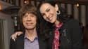 Mick Jagger et L'Wren Scott.