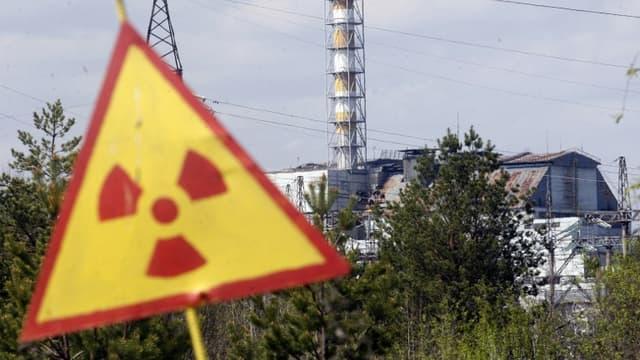 La centrale nucléaire de Tchernobyl en Ukraine, en 2015
