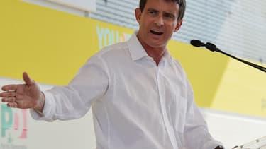 Manuel Valls estime que le FN est aux portes du pouvoir en France.