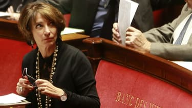 Marisol Touraine à l'Assemblée nationale.