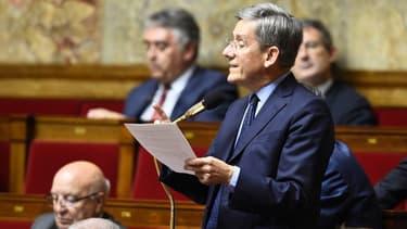 Le député centriste Charles de Courson à l'Assemblée nationale le 18 octobre 2016.