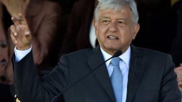 Andrés Manuel López Obrador a pris ses fonctions de président du Mexique le 2 décembre 2018 à Mexico