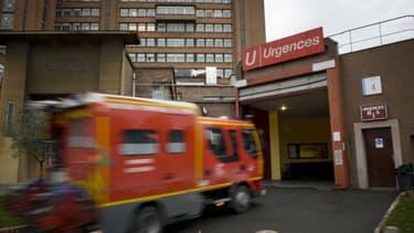 Les urgences de l'hôpital public Baujon à Paris (illustration).