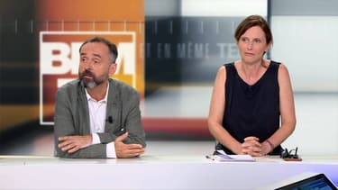 Robert et Emmanuelle Ménard.