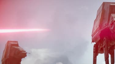 Une scène de Star Wars Rogue One