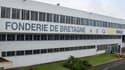 Fonderie de Bretagne, filiale du Groupe Renault, est implantée depuis 1965 près de Lorient