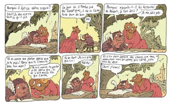"""Un extrait de """"La Chanson de Renart"""" de Joann Sfar"""