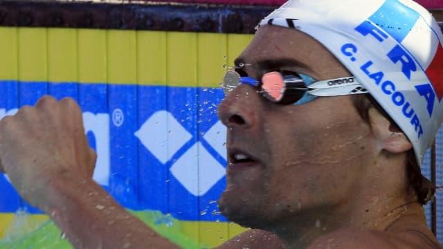 Camille Lacourt a réalisé le meilleur temps des séries du 100m dos