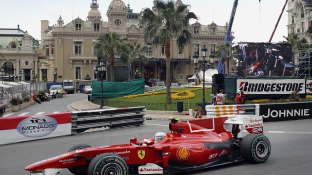 Fernando Alonso à Monaco
