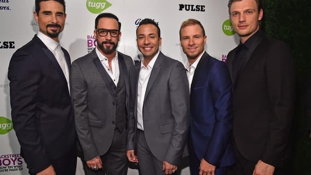 Les Backstreet Boys le 29 janvier 2015