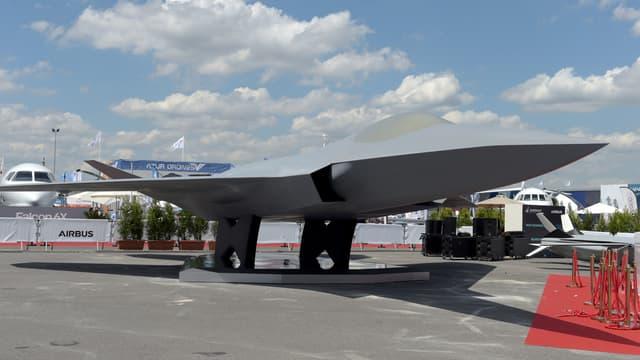 En 2019, lors du Salon du Bourget, Emmanuel Macron a dévoilé une maquette Système de Combat Aérien Futur (Scaf).