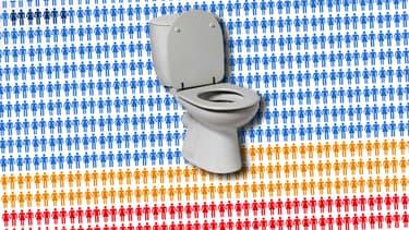 Nous ne sommes pas tous égaux devant les toilettes.