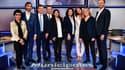 Les sept principaux candidats à la mairie de Paris, le 10 mars 2020