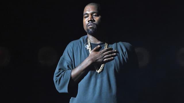 Kanye West sur scène à Las Vegas en septembre 2015