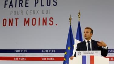 Emmanuel Macron a présenté son plan pauvreté ce jeudi 13 septembre, depuis le Musée de l'Homme à Paris.