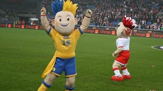Les mascottes de l'Euro 2012