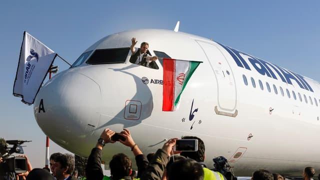 Airbus a livré son premier avion à l'Iran.