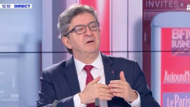 Jean-Luc Mélenchon le 18 avril 2020