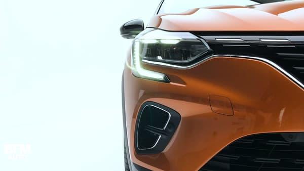 Renault reprend ses nouveaux codes stylistiques, avec notamment les phares en forme de C.