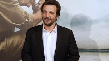 """Mathieu Kassovitz à la première de """"L'ordre et la morale"""" à Paris en 2011"""