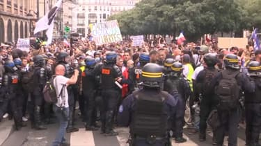 Manifestation contre le pass sanitaire à Paris, le 31 juillet 2021