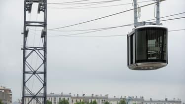 """Le téléphérique de Brest a connu depuis sa remise en fonction le 18 mai 2020 """"des difficultés récurrentes d'exploitation"""" qui ont conduit à sa mise à l'arrêt fin mai."""