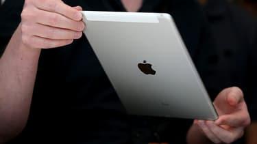 Les ventes de la tablette de la firme à la pomme ont baissé de 20% sur un an