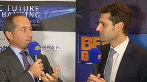 Frédéric Oudéa a été interviewé en marge de  la conférence Futur of banking dont BFM Business est partenaire.