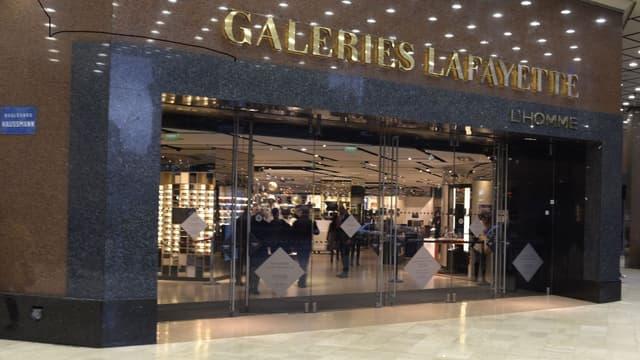 Les Galaries Lafayette ont vu leur fréquentation baisser de 50%