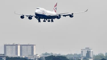 Un avion de British Airways (photo d'illustration)