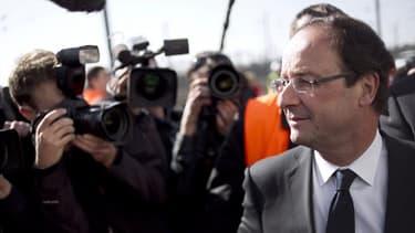 """L'Elysée a prévu de """"grands déplacements"""" pour François Hollande"""