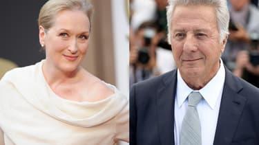 Meryl Streep et Dustin Hoffman