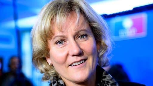 Nadine Morano est candidate grand Est aux élections européennes.