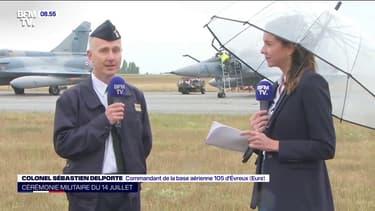 """Défilé aérien du 14-Juillet: malgré """"une météo délicate"""", les pilotes """"vont s'adapter au mieux"""""""