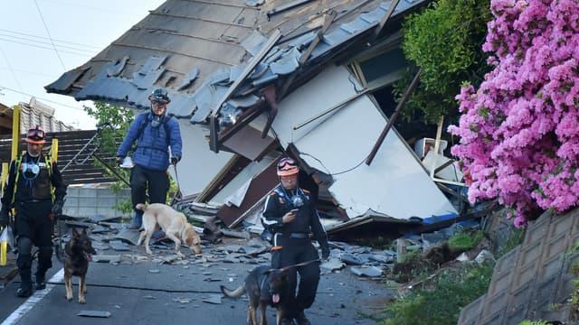 Un puissant séisme avait secoué le Japon en avril 2016.