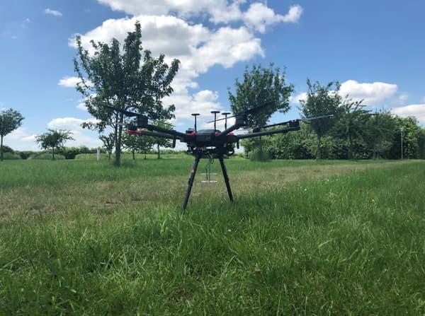 Le drone allemand pourra reconnaître les cris
