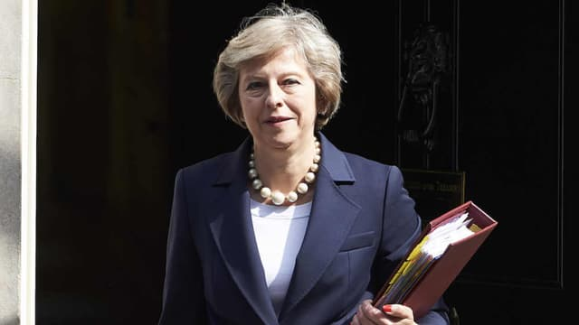 Theresa May est la Première ministre britannique.