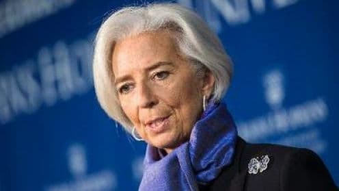 Le FMI, dirigé par Christine Lagarde, estime le déficit 2013 à 4,2% du PIB.