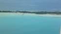 Les îles Kiribati sont menacées par la montée des eaux (illsutration)