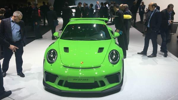 A Genève, Porsche dévoile la nouvelle génération de la 911 GT3 RS.