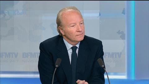"""Départementales: """"Une grande déroute pour le gouvernement"""", estime Brice Hortefeux"""