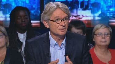 Jean-Claude Mailly, le leader de Force ouvrière,