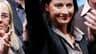 """La dirigeant des Verts, Cécile Duflot. Europe Ecologie estime que les questions d'environnement se sont suffisamment ancrées dans l'électorat français pour se traduire par des présidences de région """"vertes"""" après le deuxième tour des élections régionales."""