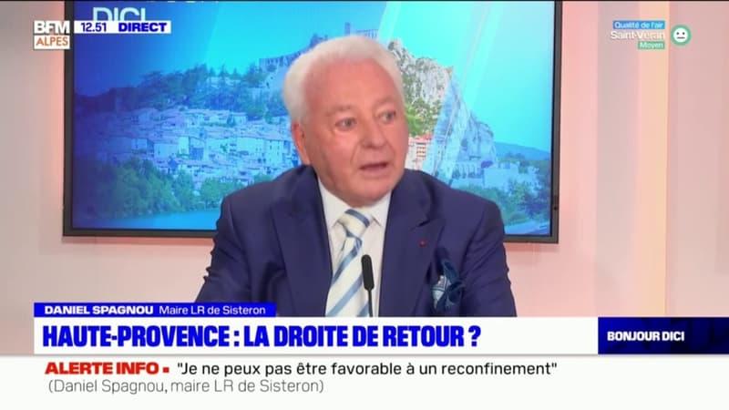 Régionales: Daniel Spagnou, maire LR de Sisteron