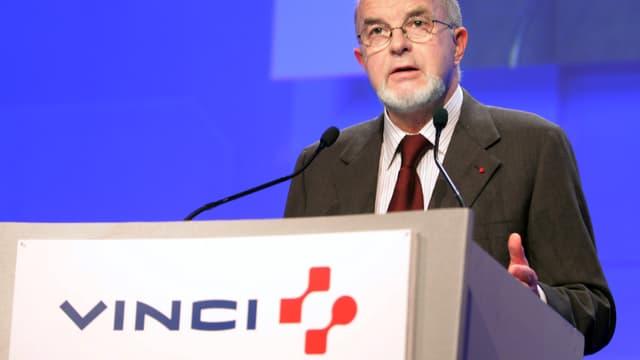 Antoine Zacharias a démissionné de son poste de PDG de Vinci en 2006